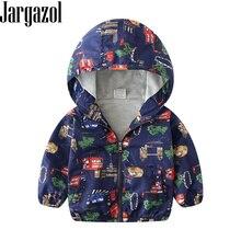 Baby Jacket Coat Girls Windbreaker Kids Boys Coat Cartoon Do