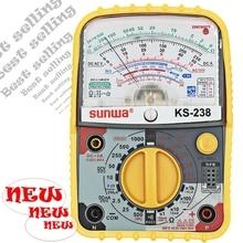 Аналоговый мультиметр SUNWA KS-238, дизайн, портативный мультиметр