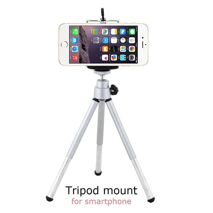 16 New 10in1 Phone Camera Lens Kit 8x Telephoto Lens + Wide Angle + Macro Lens +Fish Eye +Selfie Stick Monopod + Mini Tripod 14