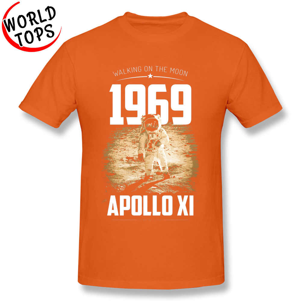 Apollo SpaceX 1969 caminar en la Luna hombres camisetas Día del Padre Spaceman Europa camiseta Yuri Gagarin camiseta soviética para hombres