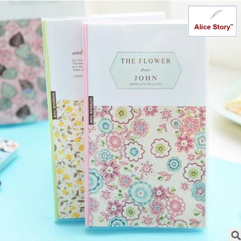 Fresh creative the flower tea time notebook PVC cover diary memo record stationery haw slice tea fresh premium hawthorn dry film big tank 220g tea flowers