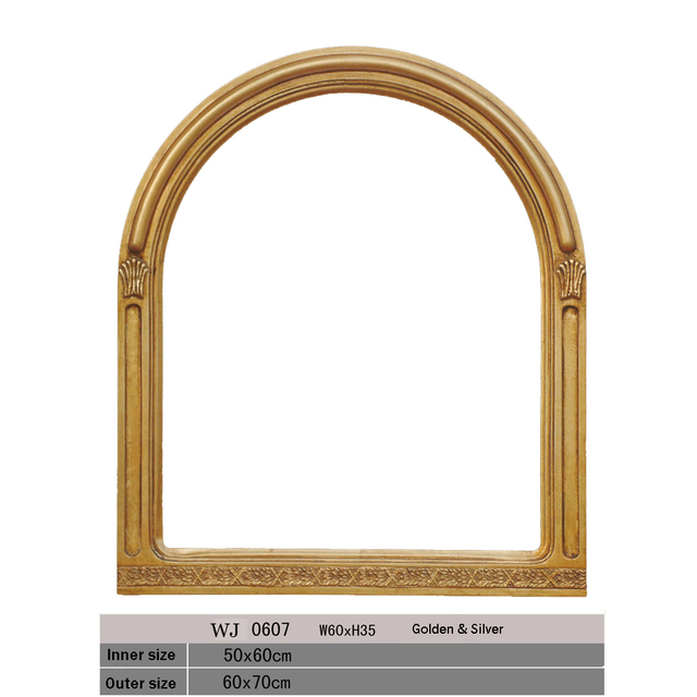 Aliexpress.com : Buy Mirror frame golden or silver frames for home ...