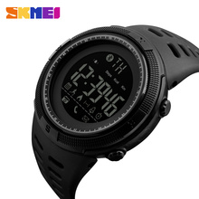 SKMEI умные часы Для мужчин приложение вызова Сообщение Напомнить удаленного Камера расстояние, калории сна монитор Bluetooth для Android IOS 1250