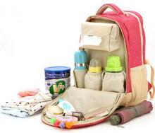 Promocja! Torba pielucha dla niemowląt torby zmiana torby na pieluchy dla mamusi torba darmowa wysyłka tanie tanio L X E M zipper 44cm (30 cm Max Długość 50 cm) Nylon 31cm Plecak 0 9kg Drukuj 4tym
