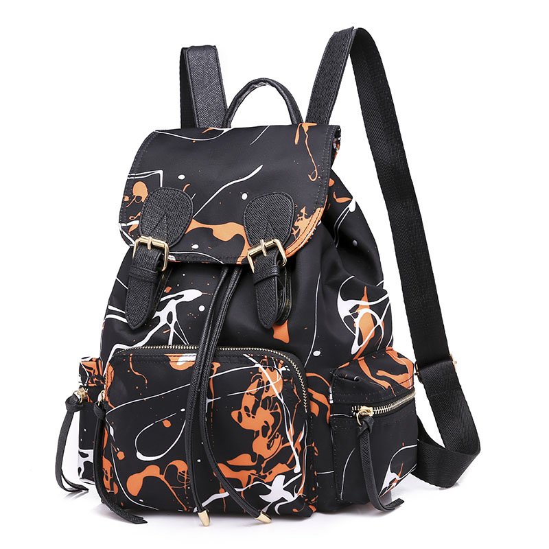 Herald Fashion Canvas Women Backpack Drawstring School Bags For Teenagers Girls Small Female Rucksack Mochilas Feminina