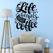 Custom life quotes Wall Art Decal For Living Room Bedroom Decorative Vinyl Stickers decoration chambre fille