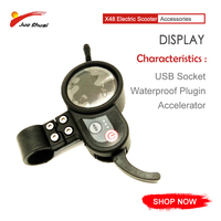 JS 48V Electric Scooter LCD Display speedway Controller 100mm Waterproof Connector 6 pins accelerator USB socket E Scooter parts