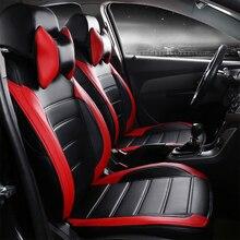 Cubierta de asiento de coche de cuatro estaciones de cuero para ROVER 75 MG MG TF 3/6/7/5 Maserati Quattroporte Spyder Coupe Maybach envío gratis negro