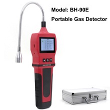 цена на Gas Analyzer Combustible gas detector port flammable natural gas Leak Detector Location Determine meter Tester Sound Light Alarm