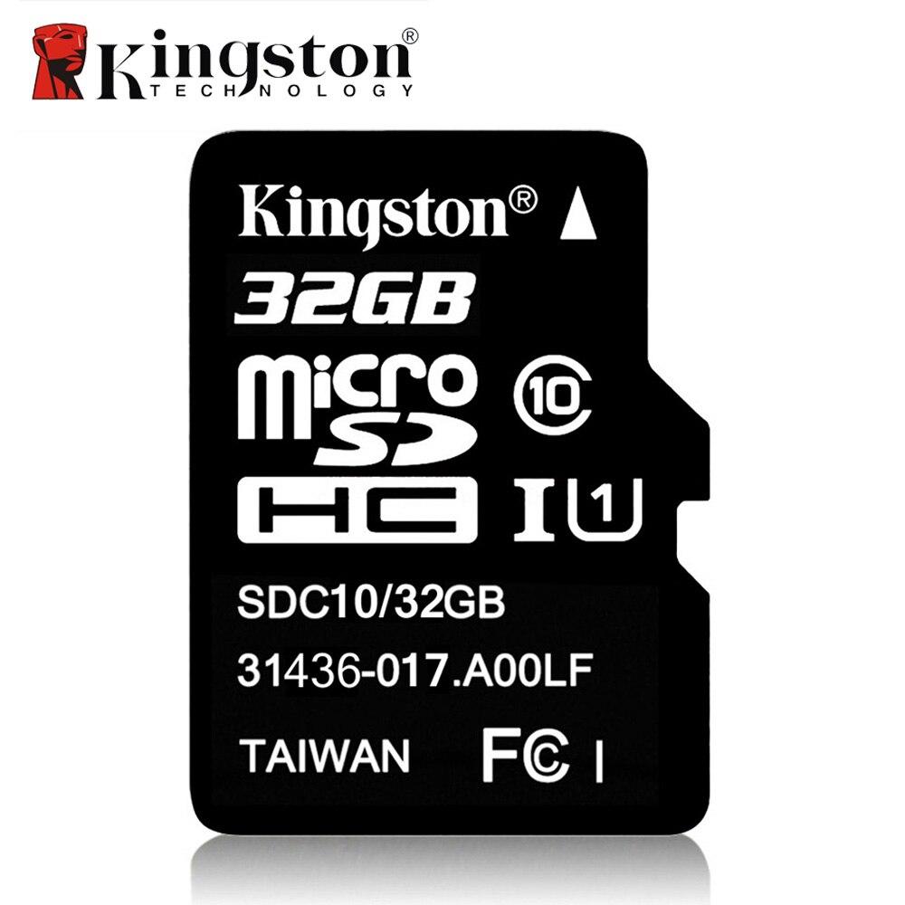 Kingston Clase 10 tarjeta Micro SD 32 GB 64 GB 8 GB 16 GB Mini SD tarjeta de memoria SDHC SDXC micro SD TF para cámara Android SmartPhone