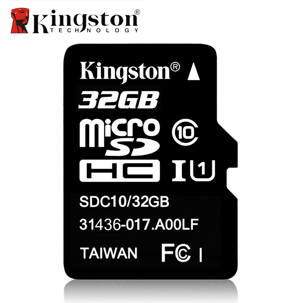 Kingston Class 10 Micro SD Card 32GB 64GB 8GB 16GB Mini SD Memory Card SDHC SDXC Micro SD TF Card For Camera Android SmartPhone genuine kingston sdhc class 10 sd card with write protection switch 16gb
