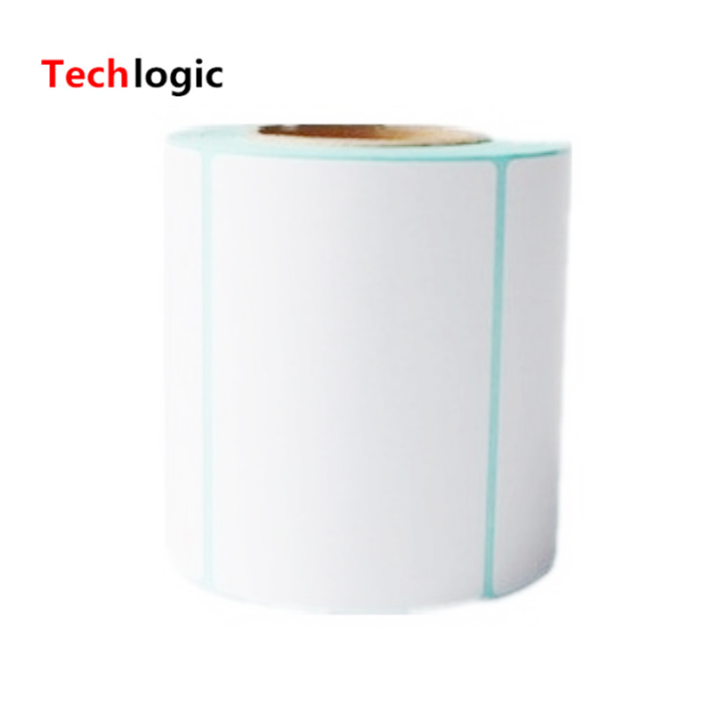 80x50mm Thermal Label Adhesive Stickers 80*50*500pcs Per Roll Thermosensitive Paper Adhesive Sticker Barcode Printer Labels