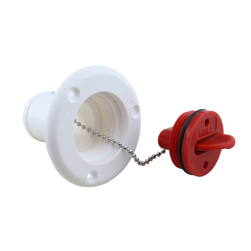 Image 2 - 1.5 Inch Marine ABS Plastic Fuel/Water Deck Filler Stabilized Socket 38mm Boat Fuel Water Filler-in Marine Hardware from Automobiles & Motorcycles