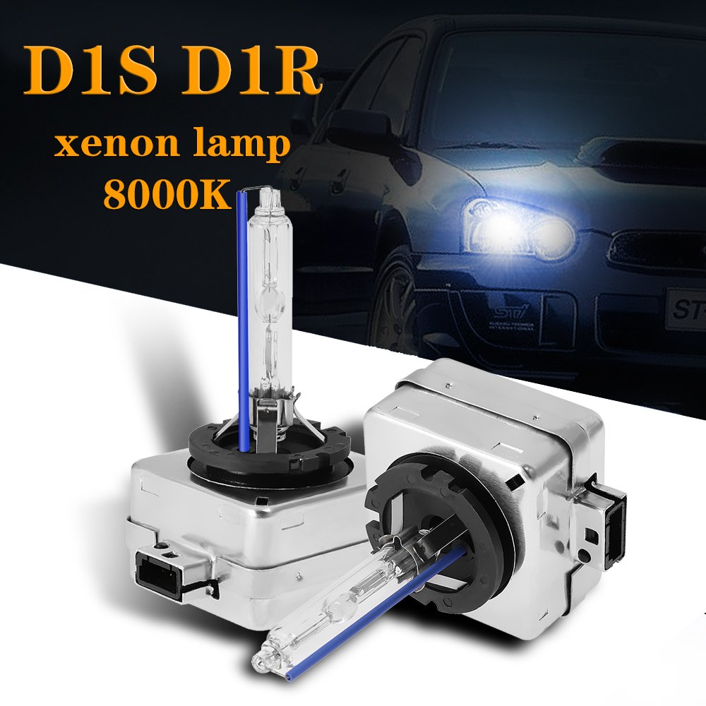 2x D1S 35W 4300K 6000K 8000K Car HID Xenon Headlight  car accessories Auto Lamp 12V for Philips or Osram 66140 for Toyota Jeep