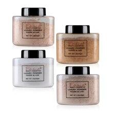 Base de maquillaje en polvo de plátano polvo de cara en polvo Control de aceite corrector de larga duración polvo de maquillaje desnudo TSLM1