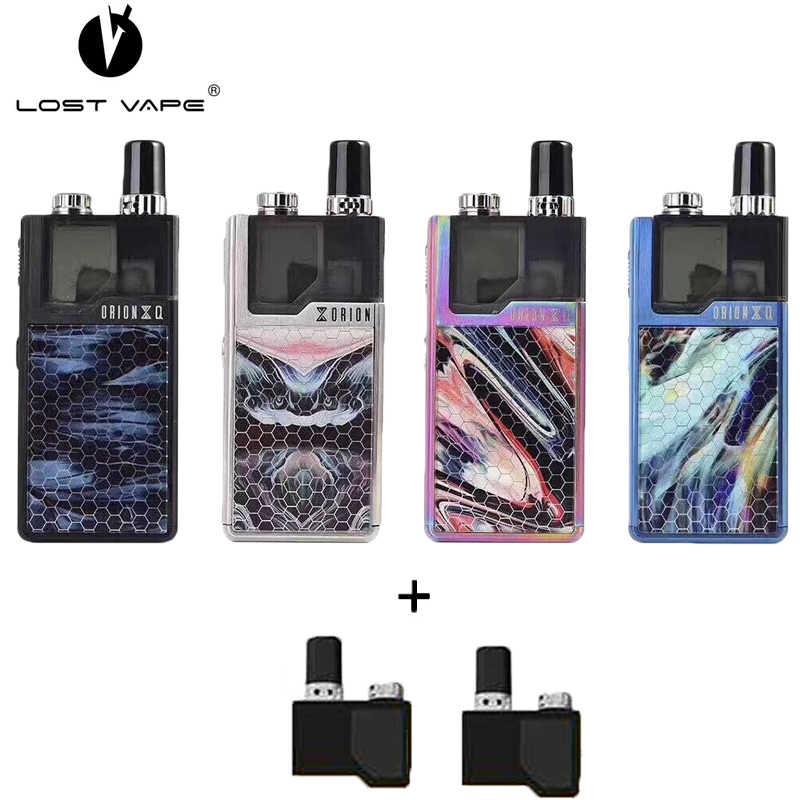 Original LostVape Orion Q Pod Kit with 950mAh Battery 17W Orion Q Electronic Cigarette Lost Vape with 2ML Qrion Q Pod Cartridge