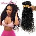 6A Baratos Malaio Virgem Do Cabelo Kinky Curly Weave 3 Bundles Lote 8 ''-30'' Aliexpress Extensões de Cabelo Humano Marcas de cabelo 100g/bundle