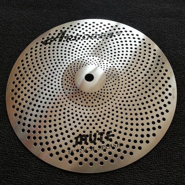 "Arborea mute cymbal 10""splash"