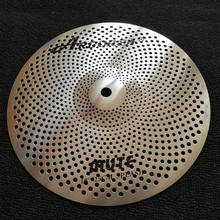 Arborea mute cymbal 2pieces 10 #8243 splash free shipping through China post cheap 20-30cm MUTE cymbal set Silver OEM accepted professional sound high grade