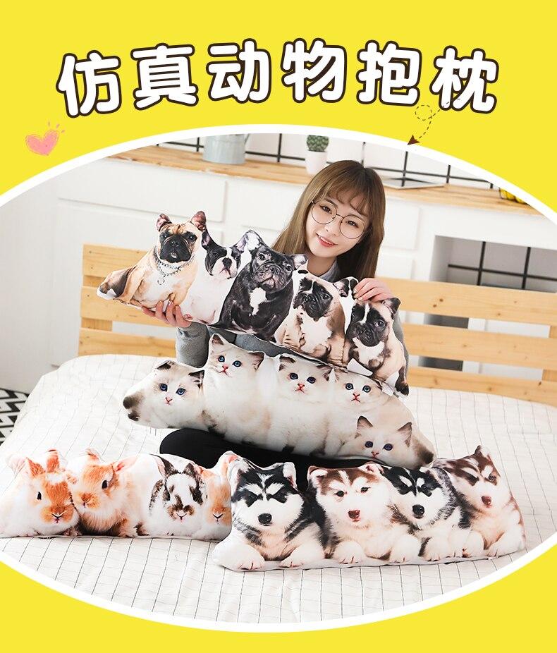 75 100cm tamanho grande simulação cão gato
