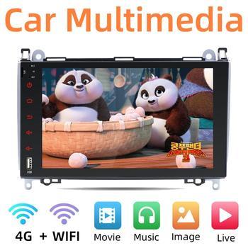 Android 10.0 2 DIN car dvd gps for Mercedes Benz B-Class W245 A-Class W169 Viano Vito W639 Sprinter W906 wifi 3/4g BT DAB OBD