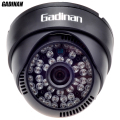 GADINAN Color HD CMOS 800TVL/1000TVL 3.6mm Lens IR Cut 48pcs IR Night Vision Indoor Dome Security CCTV Camera