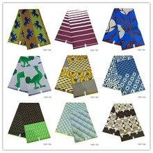 latest 100% Polyes real java design ankara african wax print fabric 6yards wax brocade african wax prints fabric for dress 1307 african wax fabric java wax 100