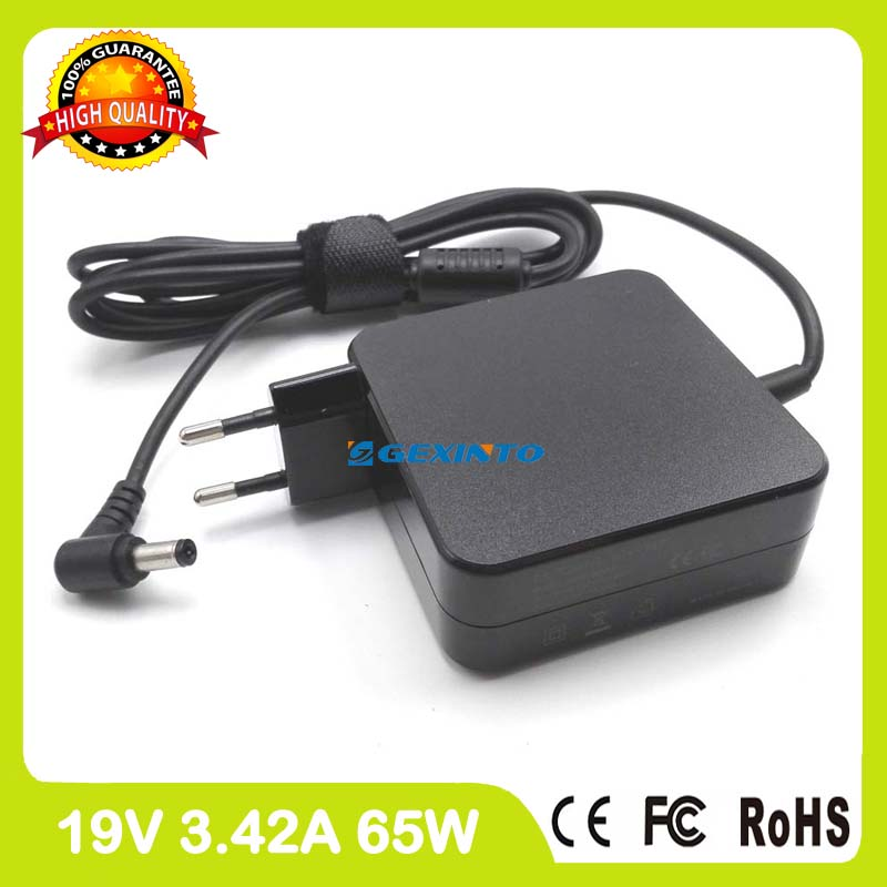 19V 3.42A AC Power Adapter For Asus laptop charger X455LD X455LF X455LJ X455LN X455WA X455WE X501A X501E X501U X501X EU Plug