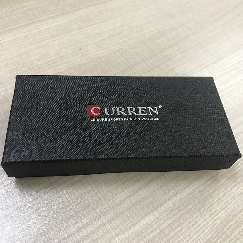 Luxury Curren Watch Boxes With Pillow Paper Materal Gift Men Women Wristwatch Box For Watch Wholesale Free Shipping