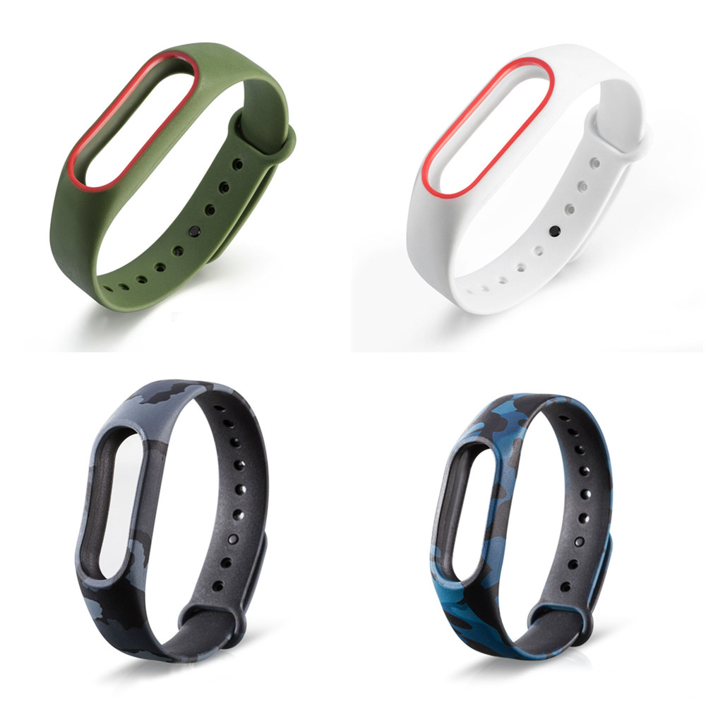 Colorful For Miband 2 Strap For Xiaomi Mi Band 2 Bracelet For Mi Band2 Accessories Smart Correa Wrist Strap Top Quality Silicone
