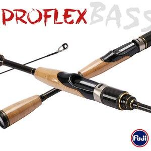 Image 2 - Tsurinoya Proflex 1.89M Carbon Spinhengel Snelle Actie Ultra Licht Lokken Hengel Fuji Accessoires Ul Bass Fishing pole