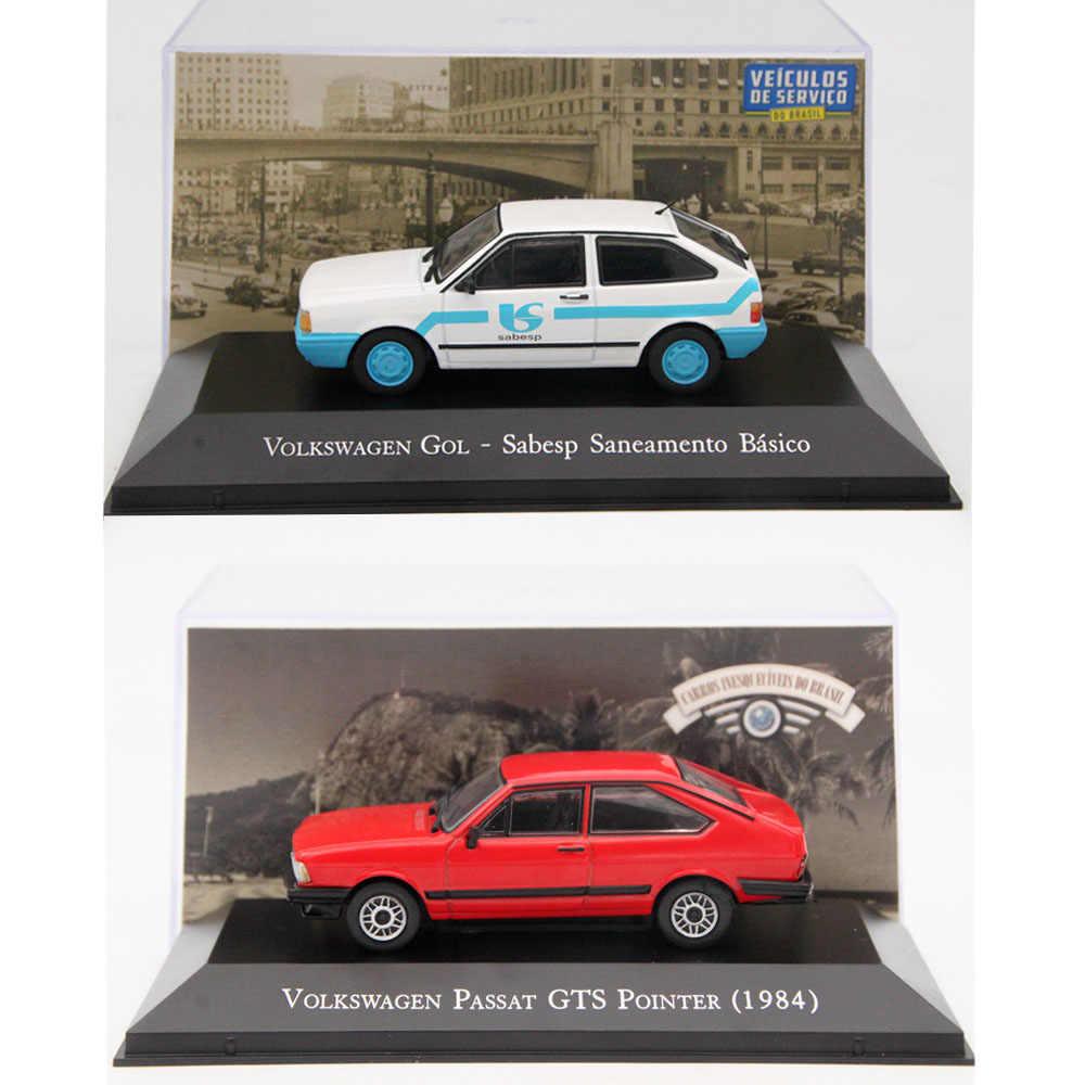 Altaya 1:43 ixo v gol w gol/1500 1982/viagem/kombi/gol/santana/passat/fusca/saveiro diecast modelos carros de brinquedo coleção miniatura