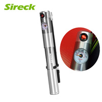 Sireck 210 Psi Aluminum Alloy Bicycle Pump Mini Bike Pump With Pressure Gauge Air Inflator Portable Cycle Hand Tire Ball Pump