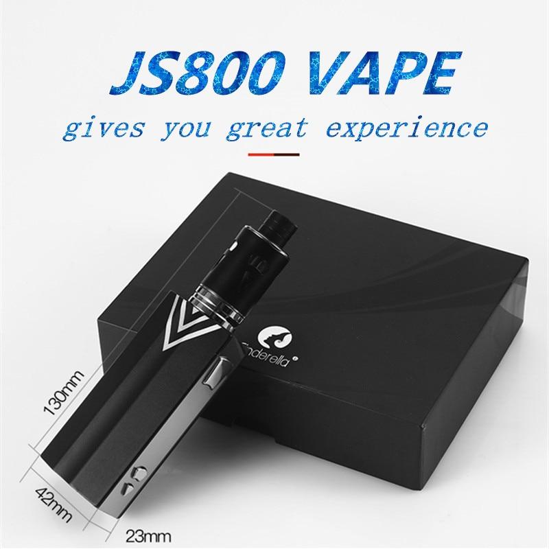 , 100W vape kit 2000mah Vaporizer big Smoke Hookah vape pen 510 Metal Body 3.5ml tank Atomizer Box Mod Kit e cigarette Vapor