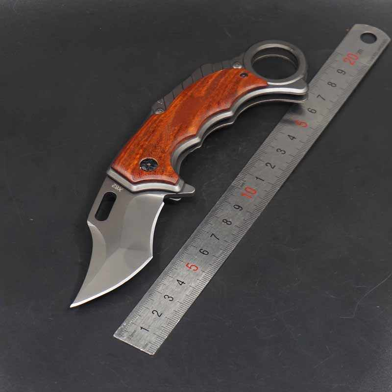 للطي Karambit سكين cs الذهاب في الهواء الطلق التخييم الصيد جيب سكينة تكتيكية بقاء مخلب السكاكين EDC الذاتي الدفاع القتالية أدوات