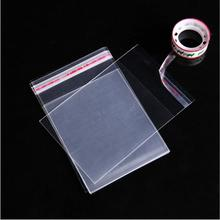 100PCS 4 x 6Inch Crystal Clear, Protective Polypropylene Storage Bags, with Flap, 100 Cellophane Bags