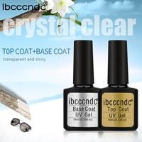 Nail Gel Polish Soak Off UV Top Base Coat Gel Polish Primer Lasting 10ml Nail Gel Lacquer Manicure Nail Art Varnishes Gelpolish