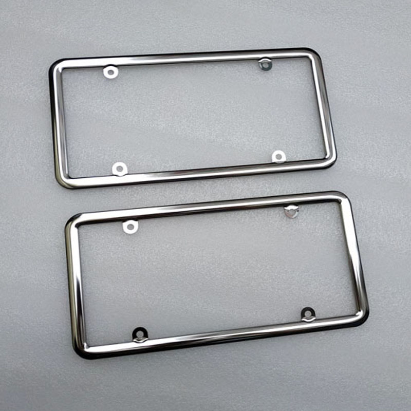 2pcs for usa Car License Plate Frame Number plate Holder  Vehicles Standard license us