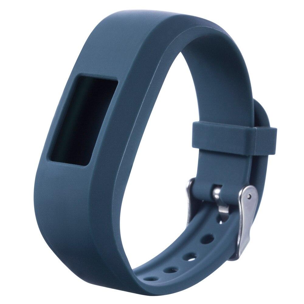 Susenstone 2017 12 color silicone straps for watches sports watchband rubber straps correa reloj For Garmin VivoFit Jr Junior new garmin watch 2019