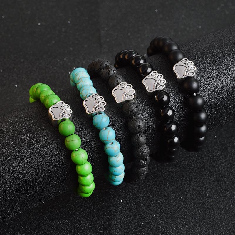 Cat Paw Charm Bracelet