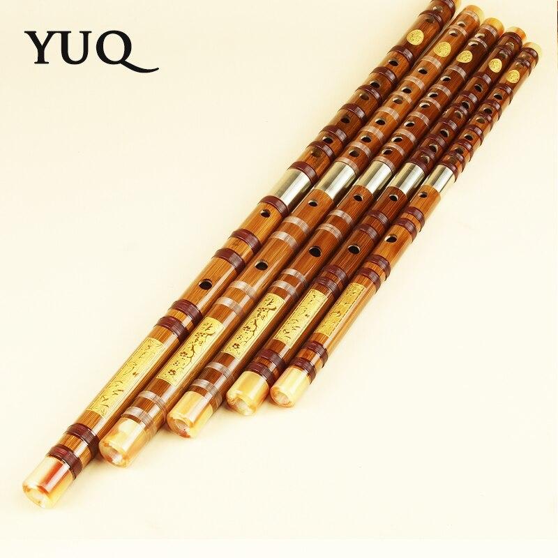 YUQUE Traditionele professionele bamboefluit Houtblazers dizi - Muziekinstrumenten - Foto 3