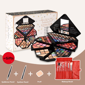 Image 5 - New Brand Diamond Case makeup kit,Fashion cosmetics set,Beauty gift,Grooming powder Concealer,Magic Eyebrow, Charming eyeshadow
