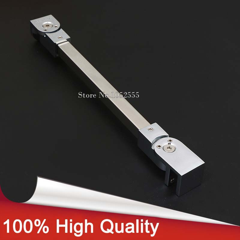 Glass Clamp,304 Stainless Steel Shower Room Accessary Glass Supporting Bar, Angle adjustable Glass Stablizer Holding ClampGlass Clamp,304 Stainless Steel Shower Room Accessary Glass Supporting Bar, Angle adjustable Glass Stablizer Holding Clamp