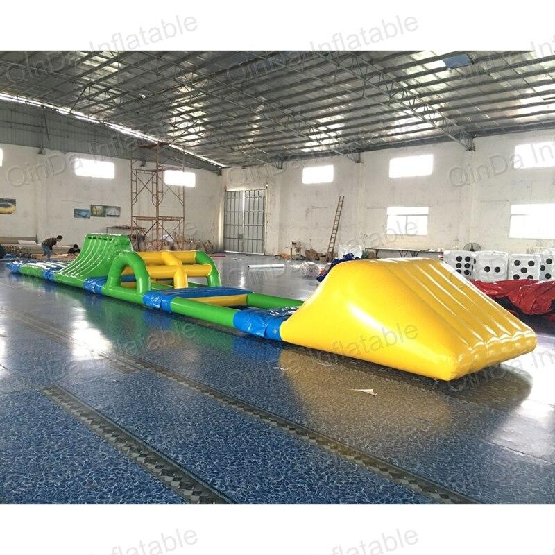 2017 New Design Inflatable Trampoline Park, Outdoor Inflatable water park games swim float platform inflatable bouncer water trampoline for water park