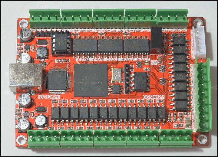 5 axes 50 KHZ cinq axes moteur pas à pas carte de sortie USB MACH3 USB CNC carte d'interface pour Machine de gravure de CNC