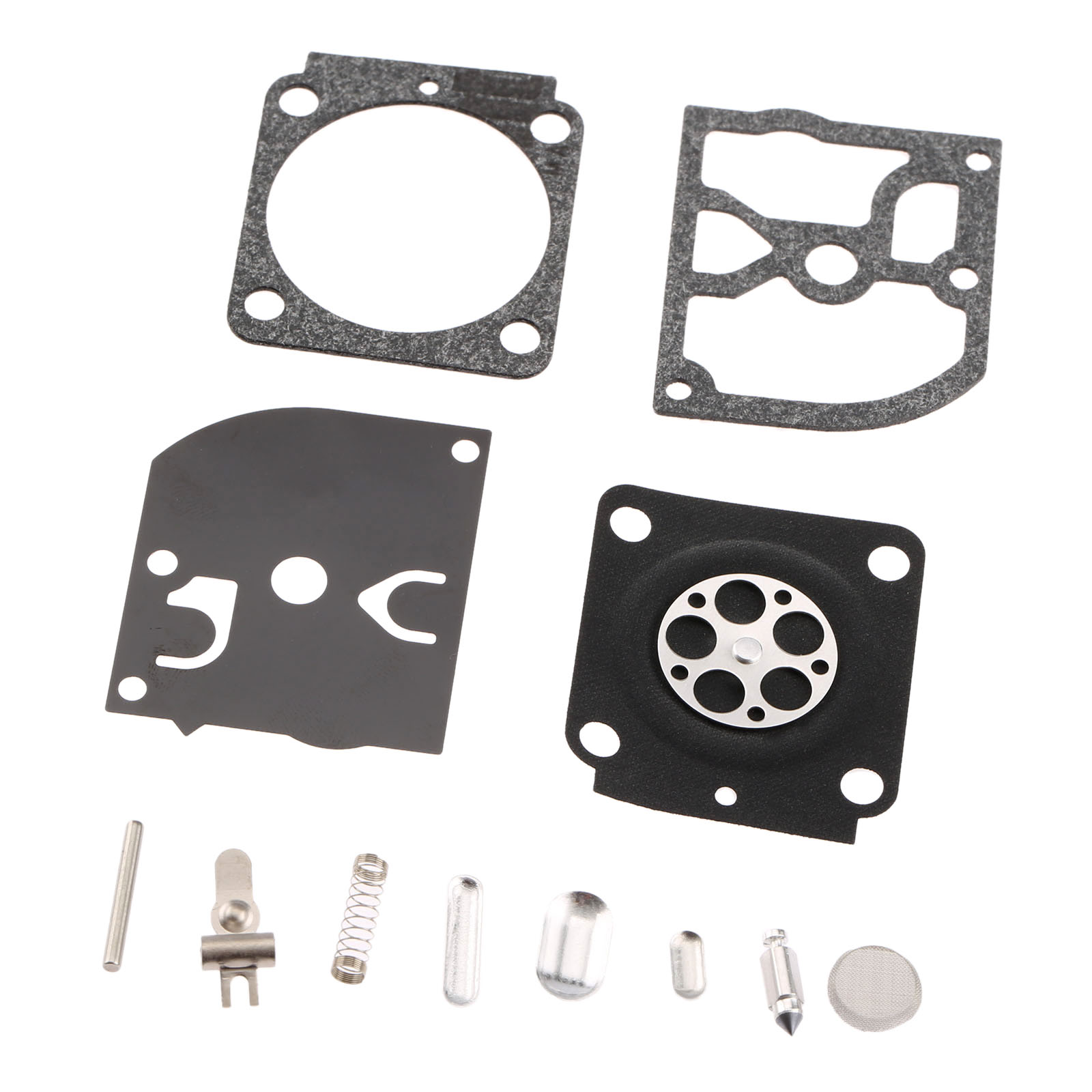 Carburetor Repair Kit Chainsaw Trimmer Parts RB-100 Gasket Diaphragm For Zama STIHL HS45 FS55 FS38 BG45 MM55 TILLER ZAMA C1Q 10pcs carburetor metering diaphragm assembly small engine carburetor metering diaphragm replaces zama a015053 trimmer