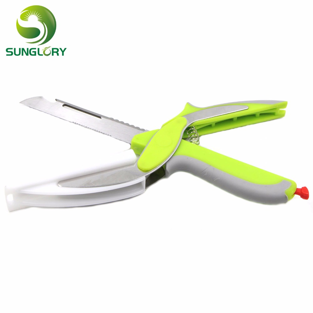 Popular clever cut buy cheap clever cut lots from china for Kitchen pro smart cutter