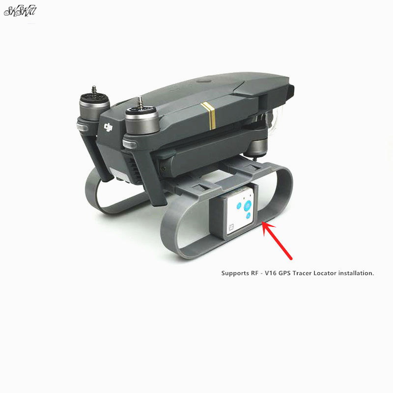 Extension Heightened Landing Gear RF-V16 GPS Tracer Locator Holder Camera gimbal protection For DJI MAVIC pro drone Accessories
