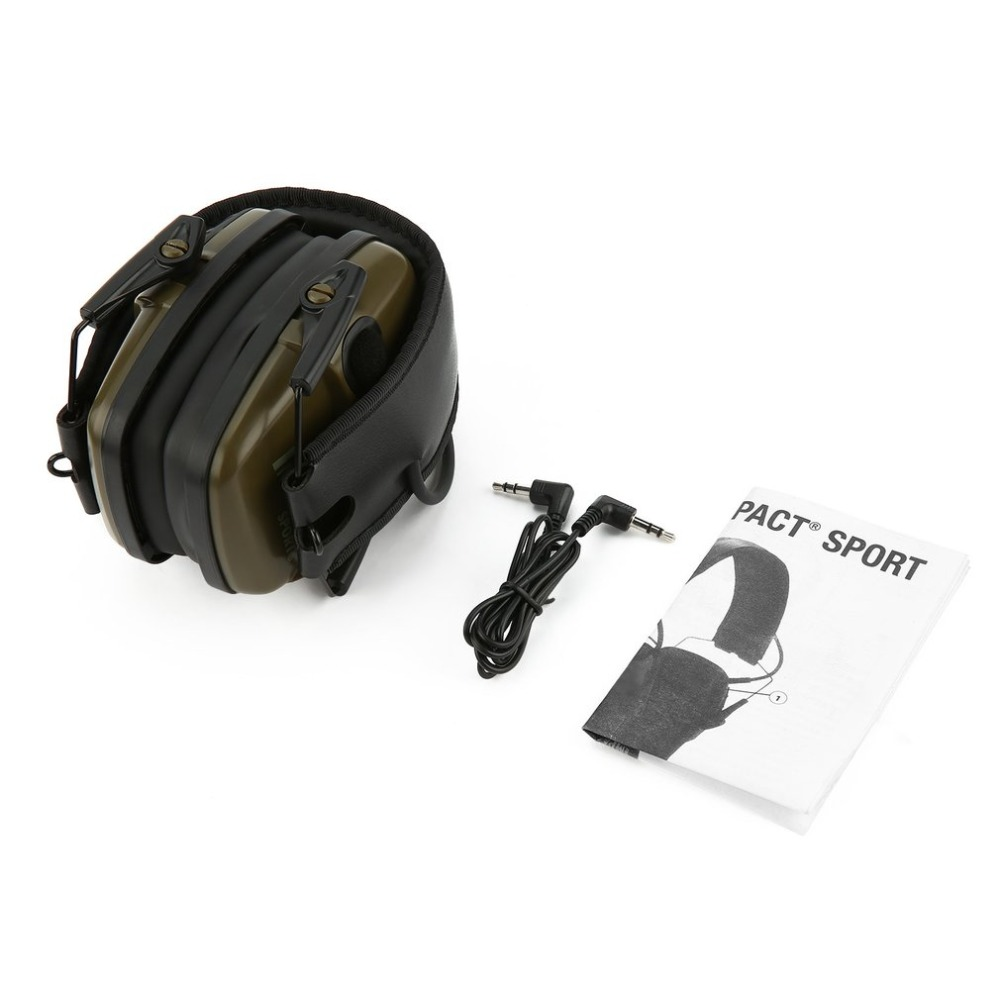 Outdoor Sports Anti-noise Impact Sound Amplification Electronic Shooting Earmuff Tactical Hunting Hearing Protective HeadsetOutdoor Sports Anti-noise Impact Sound Amplification Electronic Shooting Earmuff Tactical Hunting Hearing Protective Headset