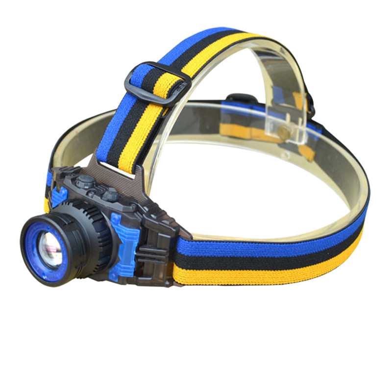 Q5 Led Headlamp Rechargeable Torch Zoom Frontale USB Head Lamp Light Flashlight Headlight for Fishing Camping Hiking AC Charger